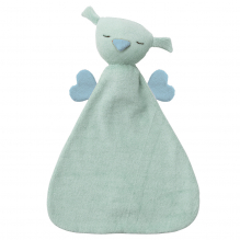 Knuffeltje Hugo - Fresh mint/deep blue