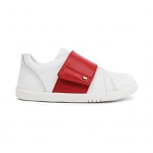 Schoenen I walk - Boston Trainer White + Red - 635306
