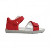 Sandalen I walk - Sail Rio Red Silver - 635006