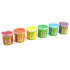 Peinture à doigts  - 6 couleurs licornes - à partir de 3 ans