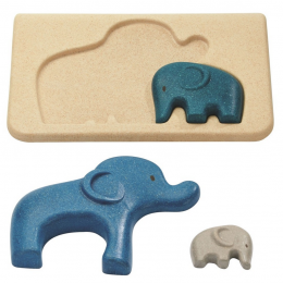 Puzzel olifanten - vanaf 18 maanden