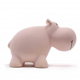Bijt- en badspeeltje met belletje nijlpaard - vanaf de geboorte