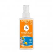Biologische zonnebrandcrème - gemiddelde bescherming SPF 15 - 125 gr.