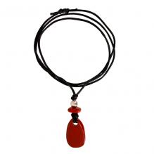 Krachtsteen Jaspis rood