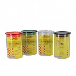 Glazen potje met hermetisch deksel - 800 ml