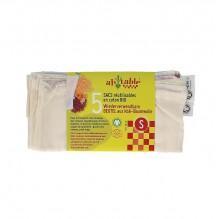 5 zakjes voor granen en droogwaren in BIO katoen Maat S
