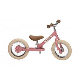 Trybike steel loopfiets vintage pink - tweewieler