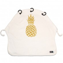 Kinderwagen gordijn ananas