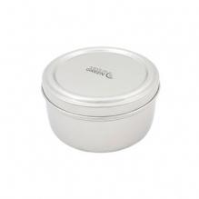 Boîte ronde en inox - 800 ml