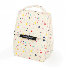 Lunch bag isotherme en coton BIO - motif verger