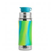Roestvrijstalen drinkfles 325 ml - Aqua Swirl