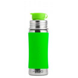 Roestvrijstalen drinkfles - sportmodel - 325 ml - Groen