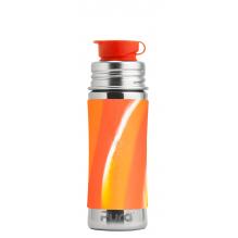 Roestvrijstalen drinkfles - sportmodel - 325 ml - Orange Swirl