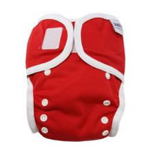 Beschermbroekje voor stoffen luiers - 3,5 tot 20 kg - Set van 2 - Rood