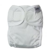 Beschermbroekje voor stoffen luiers - 3,5 tot 20 kg - Set van 2 - Wit
