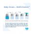 Evolutieve RVS drinkfles - 150 ml - Siliconen speen - Pink Swirl