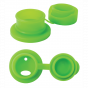 Siliconen sportdop voor Pura roestvrijstalen fles - Groen