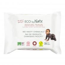 Eco Doekjes – Parfumvrij 100% ecologisch - 20 stk