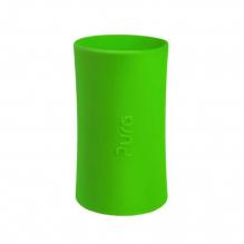 Lange siliconen hoes voor evolutieve RVS drinkfles Pura - Groen