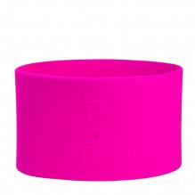 Korte siliconen hoes voor 150 ml RVS flesje Pura - Roze