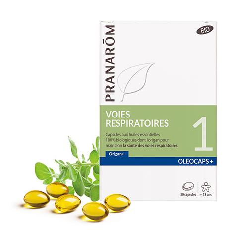 Oleocaps + BIO N°1 - Voies respiratoires - 30 capsules