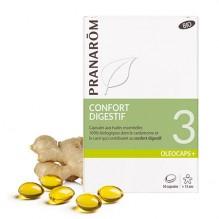 Oleocaps + BIO N°3 - Confort digestif - 30 capsules