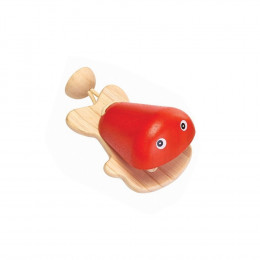 Castagnette vis rood - vanaf 12 maanden
