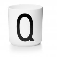 Porseleinen beker Q