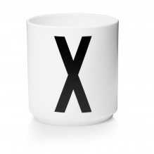 Porseleinen beker X