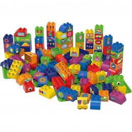 Blokken met 3 Basisplaten - 100 blokken - vanaf 18 maanden