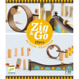 Zig & Go dominoset - 25 stuks