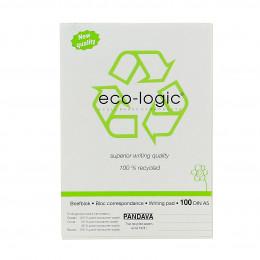 Correspondentiebloc Eco-Logic