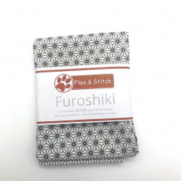 Furoshiki 44x44: Geometric White
