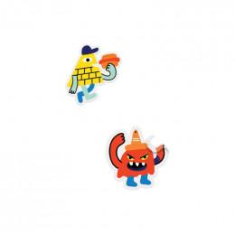 Stickerverhalen - Monsterinvasie