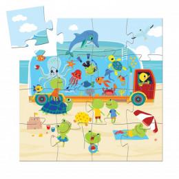 Silhouetpuzzel - Het aquarium