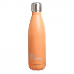 100% Roestvrijstalen drinkfles - Flamingo - 500 ml