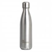 100% Roestvrijstalen drinkfles - Zilver - 500 ml