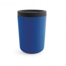 Gobelet en bambou avec couvercle - 350 ml - Bleu