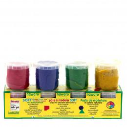 Boetseerklei - 4 kleuren
