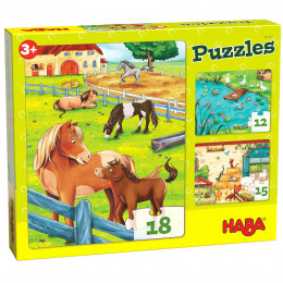 Puzzels - Boerderijdieren