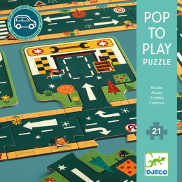 Puzzel Pop to play - Straten