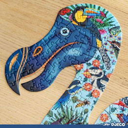 Puzzel art - Dodo