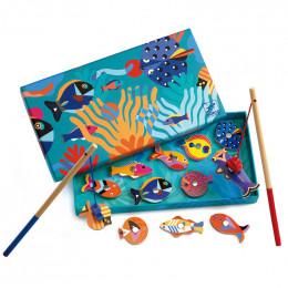 Magnetisch visspel - Grafische vissen