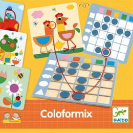 Eduludo spel - Coloformix