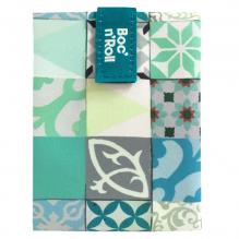 Herbruikbare en afwasbare foodwrap Boc'n'Roll - Patchwork Green