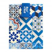 Herbruikbare en afwasbare foodwrap Boc'n'Roll - Patchwork Blue