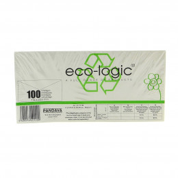 Eco-Logic enveloppen met venster 114 x 229 mm