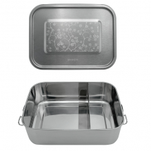 Lunch box Inox - Cerisier - 1200 ml