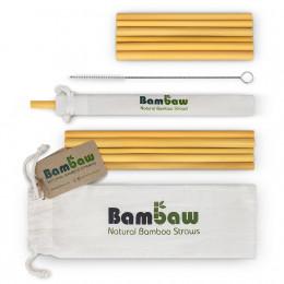 Bamboe rietjes 14 et 22 cm - 12 stuks