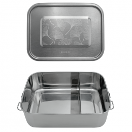 Lunch box Inox - Gingko - 1200 ml